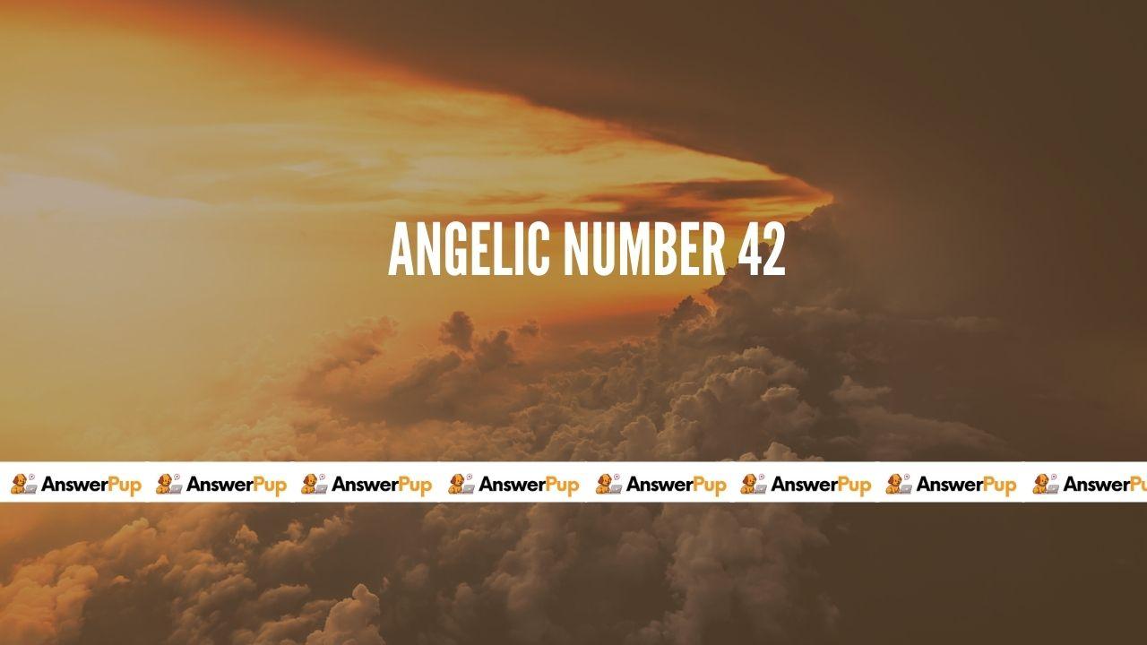 Angelic number 42