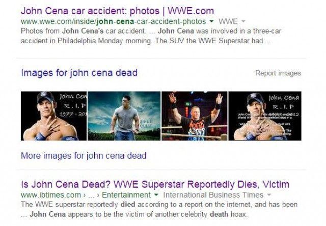 John cena dead news
